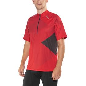 Löffler Monaco Bike Jersey Shortsleeve Men red/black